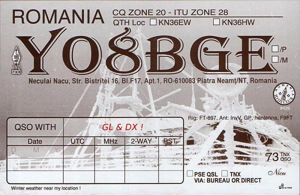 YO8BGE