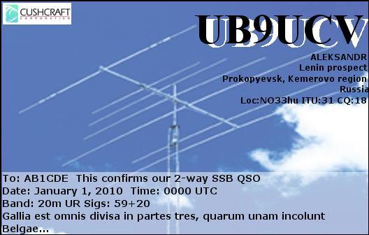 UB9UCV