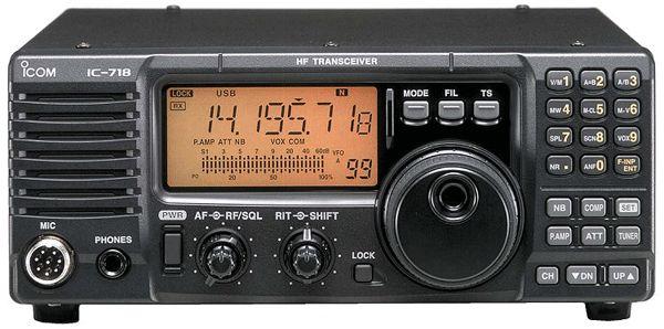 ICOM IC-718+DSP