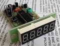 Цифровая шкала - частотомер 0,1-50 МГц пятиразр