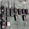 11 разных ручных VHF станций