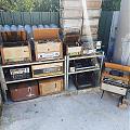 коллекция ламповых радиоприёмников