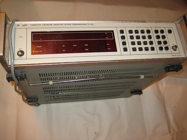 Продам генератор Г3-122 новый, в упаковке