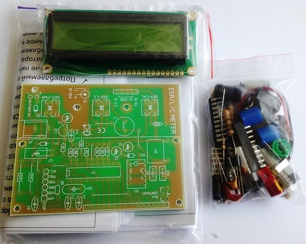 Продам R/L/C/ESR-Meter для измерения малых сопротивлений, индуктивностей, емкостей и ESR конденсаторов