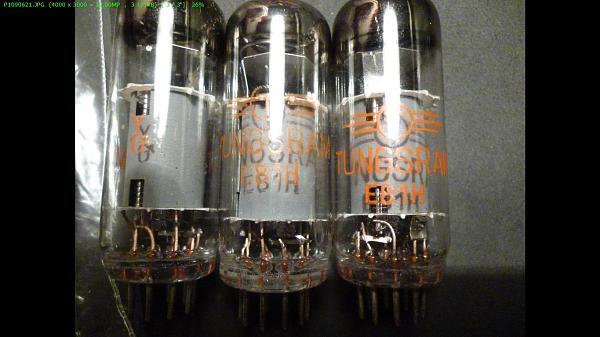 Продам Радиолампы Tungsram E81H с хранения