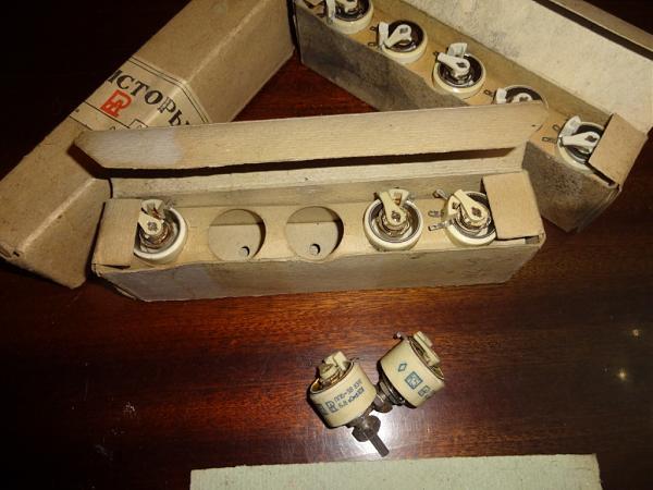 Продам Резисторы ППБ-3В, ППБ-3А(6.8) новые, ППБ-1В(220Ом)
