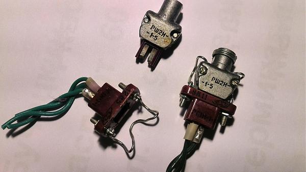 Продам Разъем РШ2Н-1-5 9(вилка), РГ1Н-1-1(розетка)