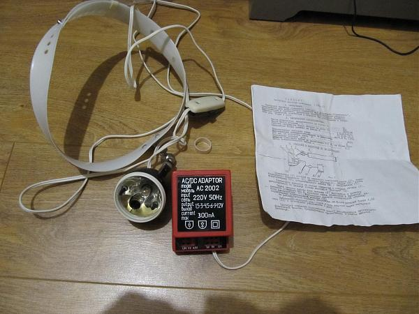 Продам Смотровой налобный осветитель СНО-02