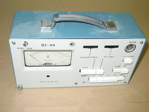 Продам Вольтметр В3-44