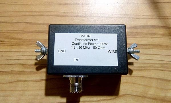 """Продам Трансформатор 91 для антенны """"Длинный провод"""""""