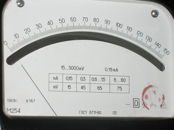 Продам Вольтметр М254