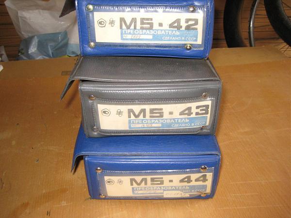 Продам Преобразователи СВЧ от М5-40 до М5-49