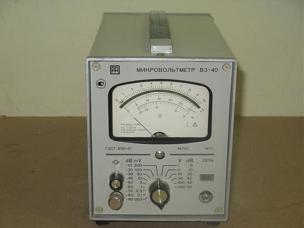 Продам Вольтметр В3-40