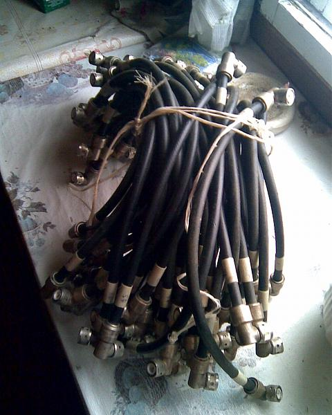 Продам кабель для антенного коммутатора на реле РЭВ15