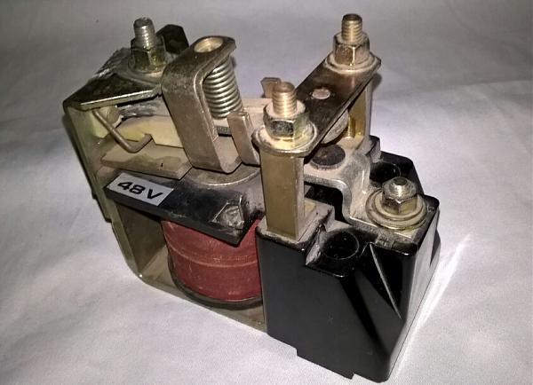 Продам Контактор 48 в-50А