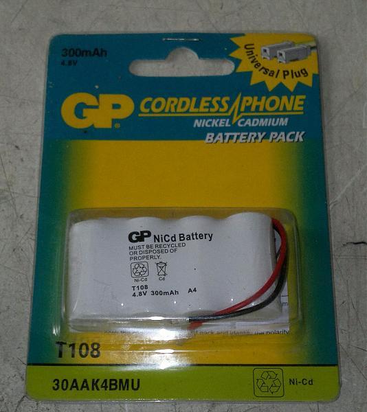 Продам Батарея 4.5 в.300 мА. для радиотелефона.