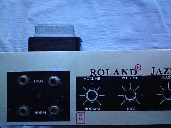 Продам ламповый гитарный усилитель Roland