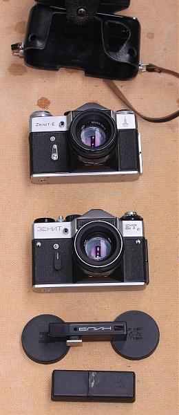 Продам фотоаппараты Зенит-ЕТ. и Зенит-Е.
