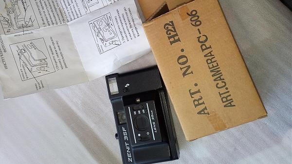 Продам Фотоаппарат Zenit35F в упаковке