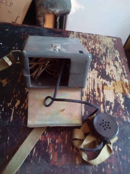 Продам телефонный аппарат с военки