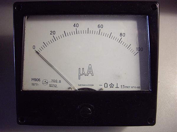 Продам Микроамперметра М906