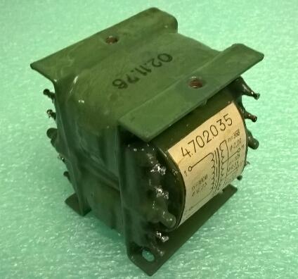 Продам Трансформатор 30 вт.многообмоточный