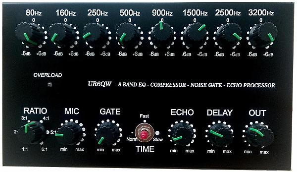 Продам лот 2_8-ми пол-й EQ COMP Gate Echo для IC7300