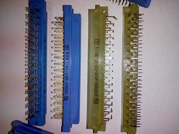 Продам разъёмы снп59-48в,сно64-48р