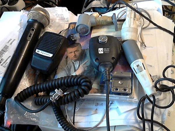 Продам микрофон для р/с ICOM HM-152 и р/с Гранит