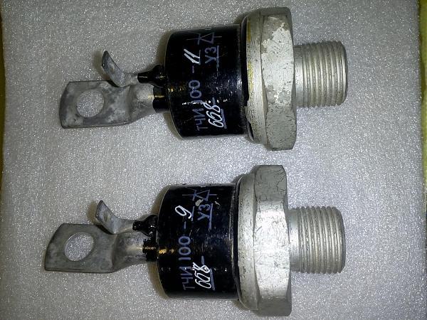 Продам тиристор тчи100-9