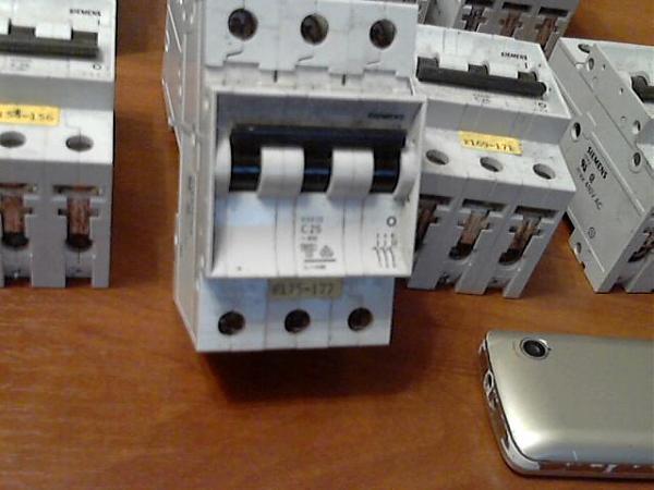 Продам  пак. выключатель.Siemenc max 480V AC.5sx23. C 25