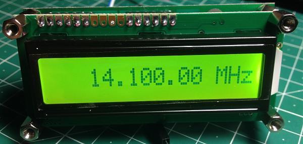 Продам 2-х входовая цифровая шкала A16-PLL с ЦАПЧ