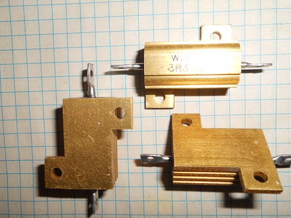 Продам Резисторы 3вт-10вт-16вт-25вт-50Вт с радиатором