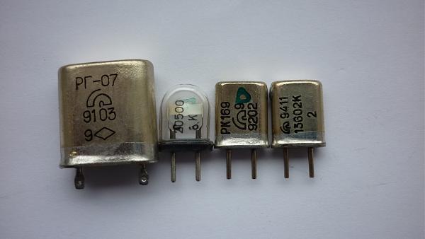 Продам Кварцевые резонаторы от 200 до 43408 кгц