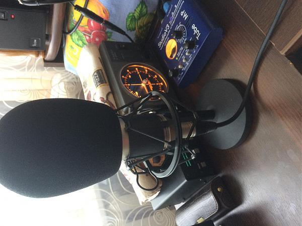 Продам Ламповый предусилитель для микрофона