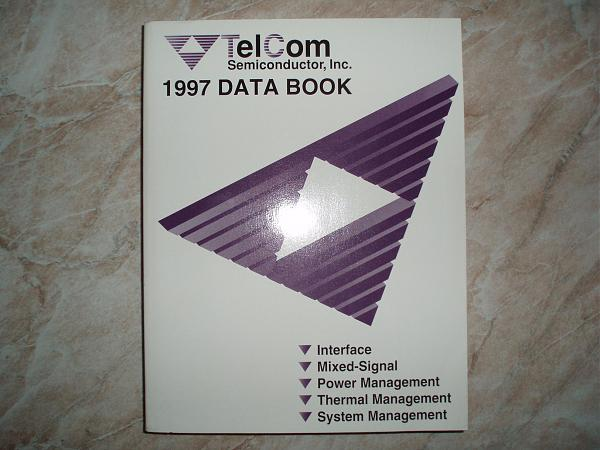 Продам TelCom Semiconductor, inc. DATA BOOK