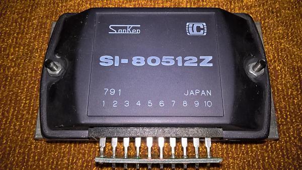 Продам Микросхема SI80512Z - стабилизатор 5 в -12А.