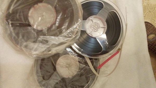 Продам Магнитофонные ленты с записями и чистые СССР