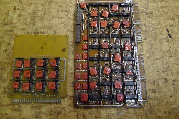 Продам Платы с микросхемами К155
