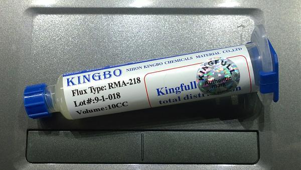 Продам флюс Kingbo RMA-218