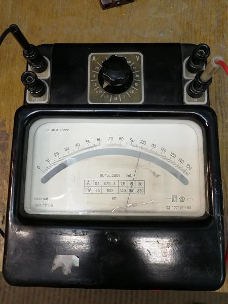 Продам М1108 ампервольтметр лабораторный точный
