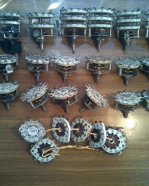 Продам Переключатели галетные на керамике