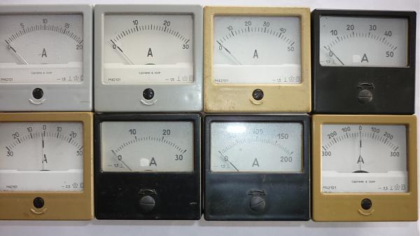Продам Амперметры 60х60мм и 80х80мм