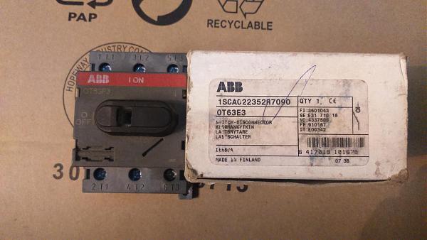 Продам Автоматические выключатели ABB Hager Nader