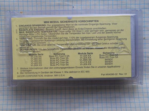 Продам  VICOR  DC/DC преобразователи USA
