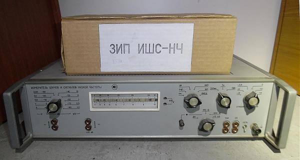 Продам Измеритель шумов и сигналов низкой частоты ИШС-НЧ