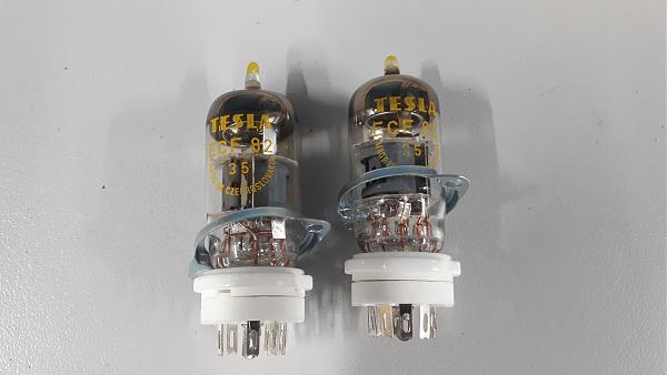 Продам Панельки ПЛК-9 с лампами ECF 82 tesla.
