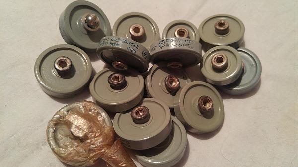 Продам конденсаторы К15У-1