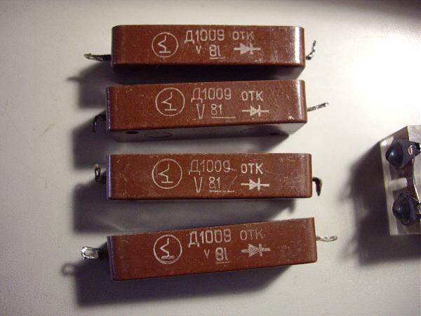 Продам Д1005А и Д1009  Столбы диодные высоковольтные.