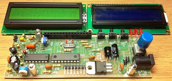 Продам ЦШ/частотомер с ЖКИ 1х16 - 1 Гц-90 МГц